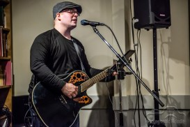 Evan Grubbs gave an outstanding performance at Books and Brews of Broad Ripple in Indianapolis, Indiana on December 15 2018