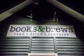 Gibson Wells gives an extraordinary performance at Books and Brews - Broad Ripple on December 22, 2018 in Indianapolis, Indiana