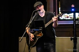 Evan Grubbs played to a full house at 4th Street Bar on April 4, 2019. Photo cred Melodie Yvonne