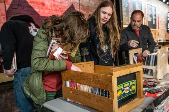 Record Store Day was a beautiful celebration of music and supporting local at record shops all across Indianapolis on Saturday, April 13, 2019. Hannah Horton camped all night outside Square Cat Vinyl to be the first in line for all the exclusive RSD deals.