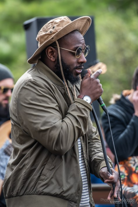 Record Store Day was a beautiful celebration of music and supporting local at record shops all across Indianapolis on Saturday, April 13, 2019. Clint Breeze and the Groove played a phenomenal set outside Irvington Vinyl and Books.
