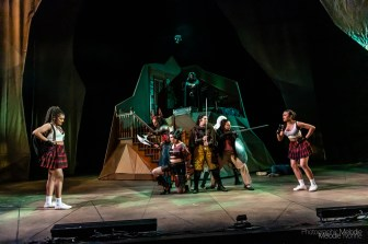 Purdue Theatre's production of She Kills Monster by Qui Nguyen and Directed by Amy Lynn Budd is an epic fantasy adventure that pulls on real heartstrings thanks to a phenomenal cast. Show runs April 12, 13, 17, 18, 19, 20 at 7:30 and 14 at 2:30 at the Nancy T