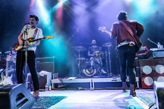 Houndmouth's second night of two with Harpooner at The Vogue Theatre was an extraordinary event courtesy of MOKB Presents, Sun King Brewing Company, WTTS, LUNA Music, and Do317 on Saturday, April 27, 2019. Photo cred Melodie Yvonne