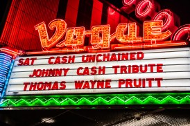 Cash Unchained's beautiful Johnny Cash tribute along with an amazing set from Thomas Wayne Pruitt made for a lovely evening at The Vogue Theatre on Saturday, July 27 2019. Photo cred Melodie Yvonne