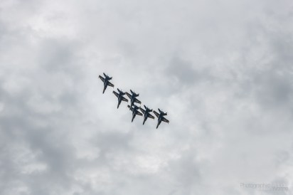 Flyovers in Washington DC impressed viewers all the way in Arlington, VA as well on Thursday, July 4, 2019. Photo cred Melodie Yvonne