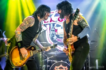 L.A. Guns with Hero Jr. and Budderside created an incendiary evening at The Vogue Theater on Thursday, September 5, 2019. Photo cred Melodie Yvonne