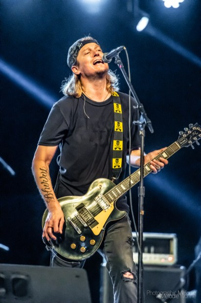 MUDDFEST 2019 featuring the legendary Puddle of Mudd with Saliva, Trapt, Saving Abel, and Tantric was a phenomenal night of face melting music at the beautiful Tippecanoe County Amphitheater on Saturday, September 14, 2019. Photo cred Melodie Yvonne.