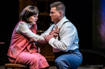 Purdue Theatre's production of These Shining Lives by Melanie Marnich and Directed by Emily A. Rollie is an amazing history lesson taught by a phenomenal cast. Show runs September 20 – 29, 2019 at the Nancy T. Hansen Theatre in Yue-Kong Pao Hall of Visual and Performing Arts. Photo cred Melodie Yvonne