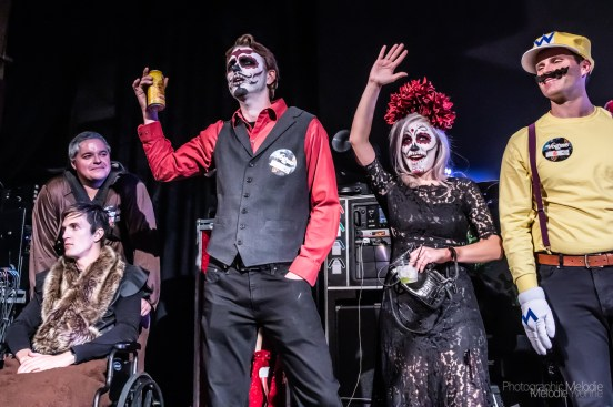 Rod Tuffcurls & The Bench Press brought their traditional night of harmonious Halloween havoc to The Vogue Theatre on Saturday, October 26, 2019. Photo cred Melodie Yvonne