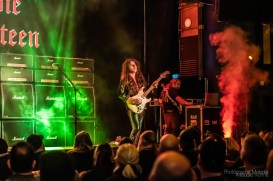 Yngwie Malmsteen's Master Class presented by Sam Ash Music Stores at The Vogue Theatre was a glorious one man show and story telling adventure by a true living legend on Friday, November 8, 2019. Photo cred Melodie Yvonne