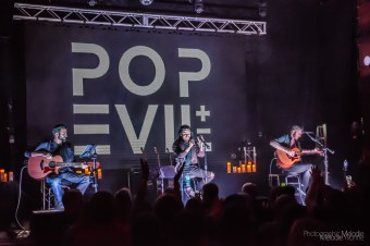 Pop Evil Acoustic with American Bombshell was an extraordinary evening at The Vogue Theatre in Indianapolis, Indiana on Thursday, December 5, 2019. Photo cred Melodie Yvonne