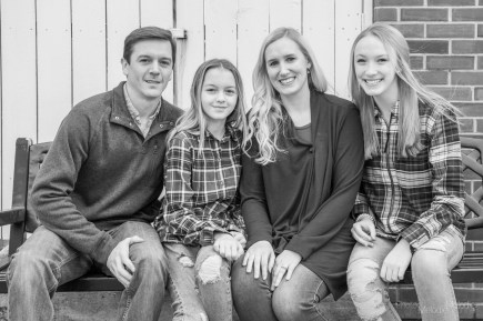 Family portrait session downtown in North Vernon, Indiana on Saturday, December 14, 2019. Photo cred Melodie Yvonne