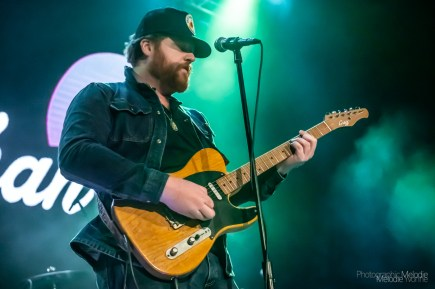 Whitey Morgan with Red Shahan played an exhilarating show for the Sun King Concert Series on Friday, February 7, 2020 at The Vogue Theatre. Photo cred Melodie Yvonne