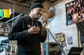 Discovery Open Mic's Full Rotation Celebration was a phenomenal evening full of beautiful performances at Coal Yard Coffee on Saturday, February 1, 2020. Photo cred Melodie Yvonne