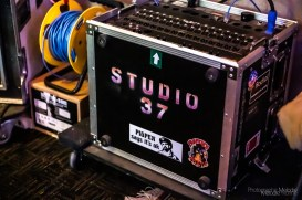 Melodie Yvonne visited Studio 37 in Lafayette, Indiana for a fun chat with Scott Ausherman followed by a private tour on Sunday, June 28, 2020. Photo cred Melodie Yvonne