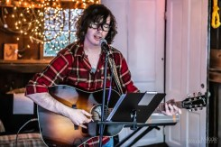 Jess Jones delivered a beautiful evening of music with the help of Freddie Bourne at the new Photographic Melodie Gallery outside event space in Indianapolis, Indiana on Saturday, September 5, 2020. Photo cred Melodie Yvonne