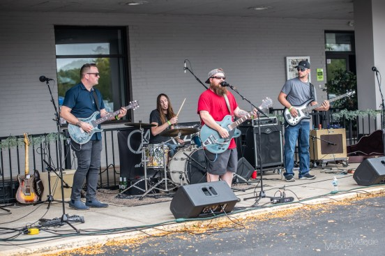 It was a beautiful day for Keep it Live Lafayette featuring X-Man and the Scratch Thing, Shorty & The Chef, and Graciously Departed at Carnahan Hall on Sunday, September 27, 2020. Photo cred Melodie Yvonne