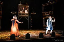 Purdue Theatre's production of Nell Gwynn is a highly intriguing story expertly performed by an extraordinary cast. Show will livestream February 19, 2021 from the Nancy T. Hansen Theatre, and follow with multiple Digital Performances through February 21, 2021. Photo cred Melodie Yvonne