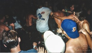 Thousands traveled from all over the world to attend Woodstock 1999 in New York, and then ultimately destroyed it. Those were the good old days. Photo creds Melodie Yvonne, Jeremy Harris, and Jason Byrum