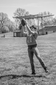 Senior Pictures Session at Millrace Park in Columbus, Indiana on April 25, 2021. Photo cred Melodie Yvonne
