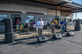 Clave Caribe brought their amazingly vibrant Latin music fusions to Carnahan Hall for an electrifying evening on Sunday, May 30, 2021. Photo cred Melodie Yvonne