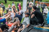 Marc Roberge put on an extraordinary show for an incredible sold out crowd during Rock The Ruins at Holliday Park in Indianapolis, Indiana on Saturday, July 10, 2021. Photo cred Melodie Yvonne