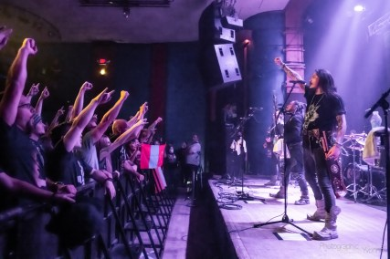 The Hu treated a full house to an epically incendiary performance at The Vogue Theatre on September 9, 2021. Photo cred Melodie Yvonne