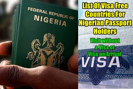 visa free countries for nigerian passport holders 2019