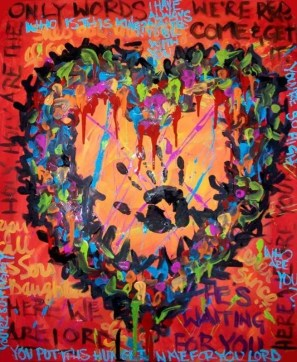 Heart Torn Out - $300
