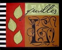 Botanical Series (Feuilles) - $200