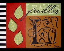 Botanical Series (Feuilles) - $200