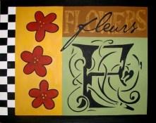 Botanical Series (Fleurs) - $200