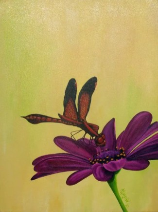 Dragonfly Series - Red - NFS • Prints Available