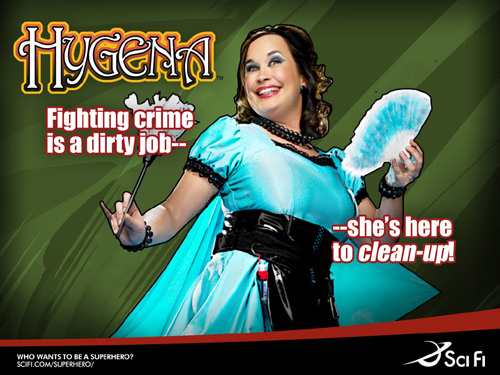 Hygena - Who wants to be a Superhero (1/6)