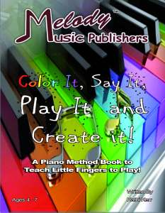 Color It, Say It Play It and Create It