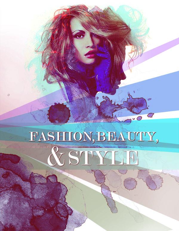 Fashion Poster Design - 123RF Tutorial