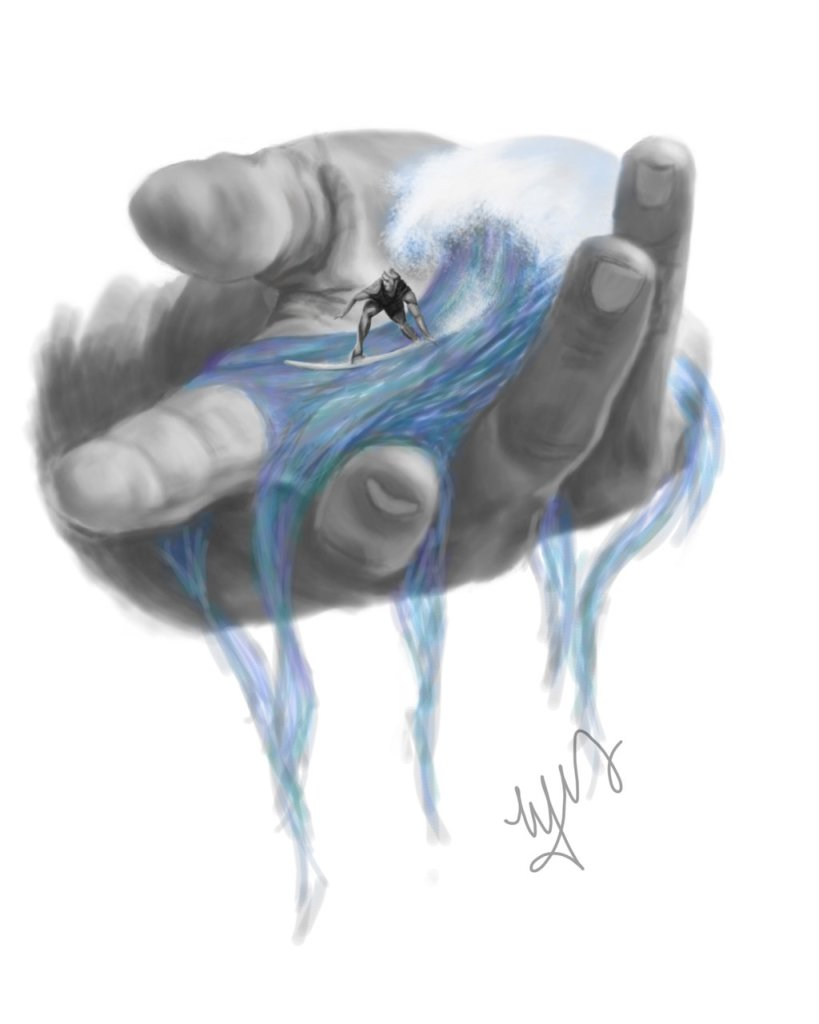 Personal Work - In the palm of my hand by Melody Nieves