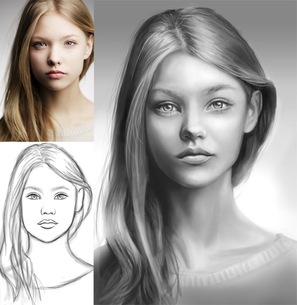 How to Paint Likeness in Photoshop