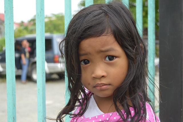 Fearful Little Girl
