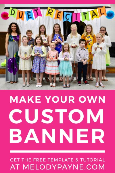 Make Your Own Custom Banner – Free Download