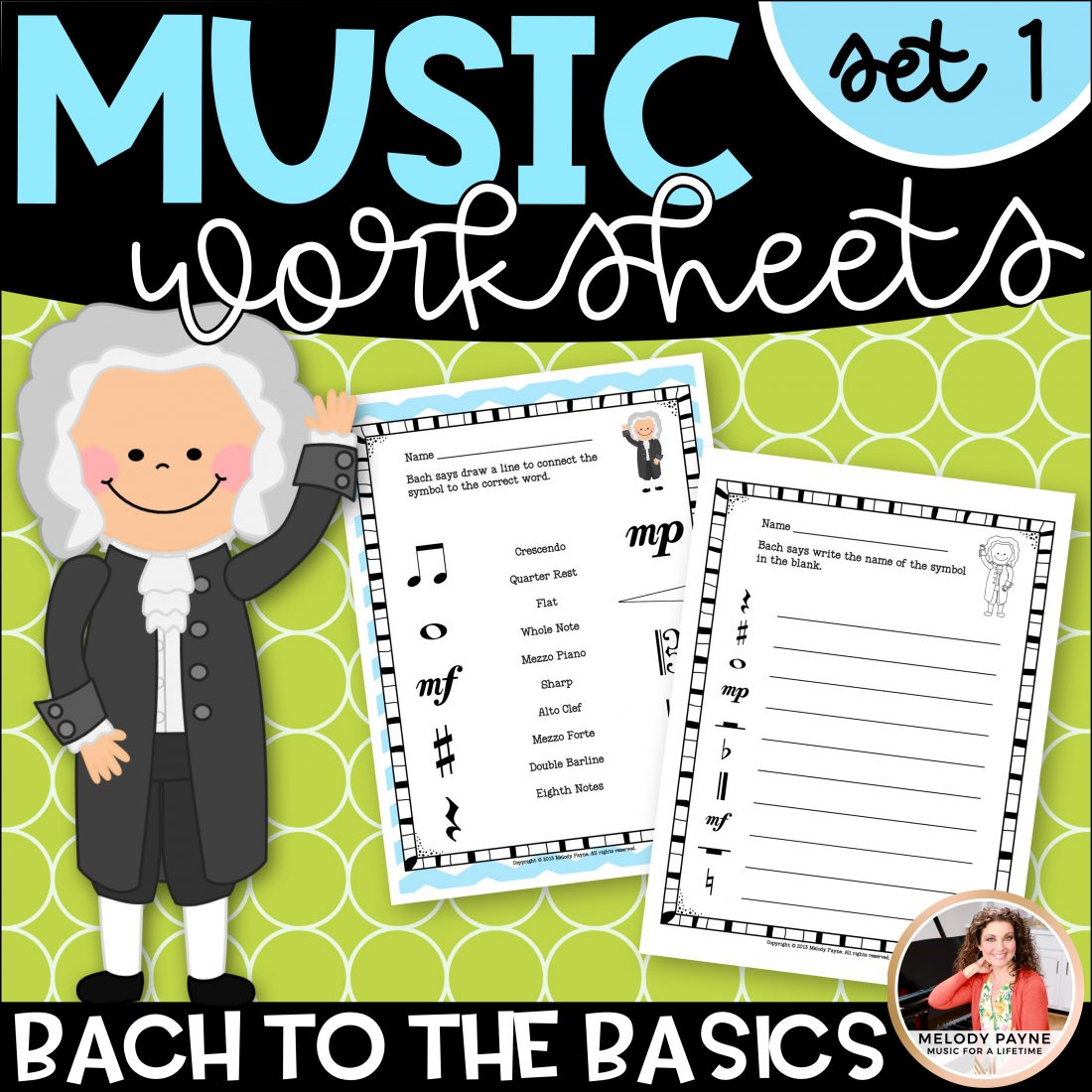 Music Worksheets For Elementary Students Bach To The