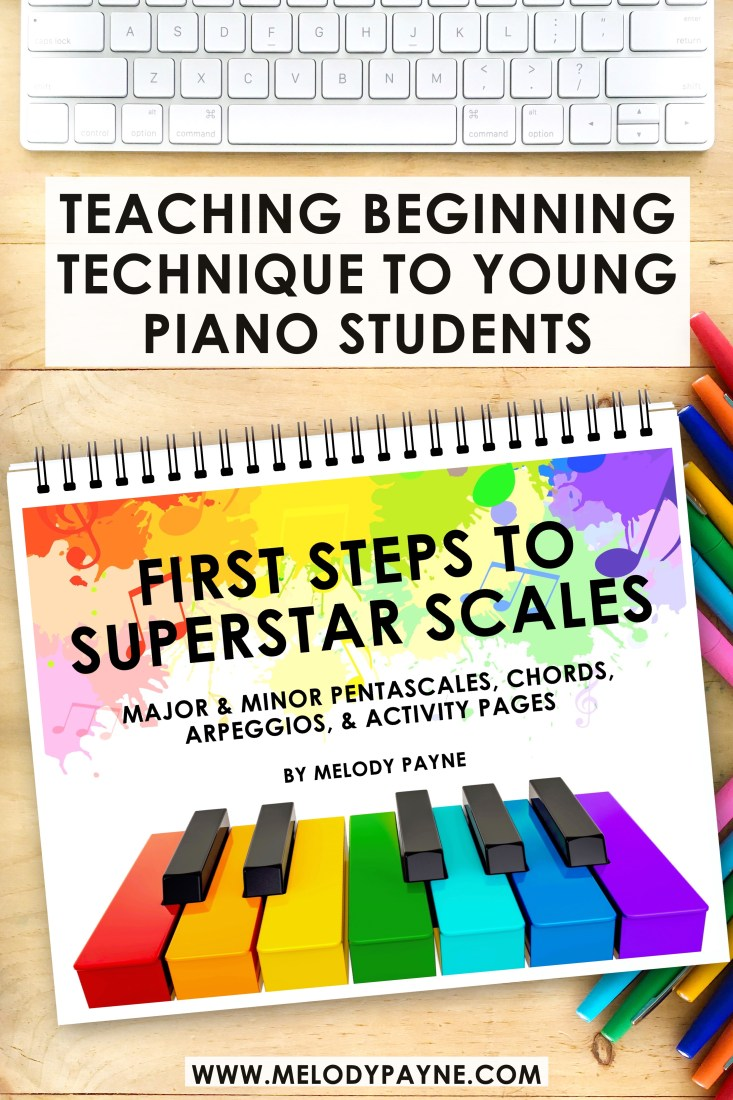 Beginning piano technique book