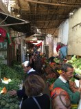 The fruit and veggie market. We got some amazing figs, dates, and apricots and one of the stalls. Yummy!