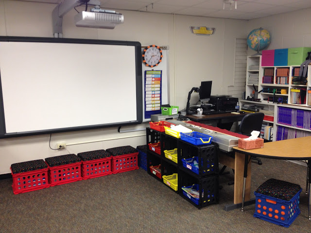 Music Class Organization – teacher corner upgrade