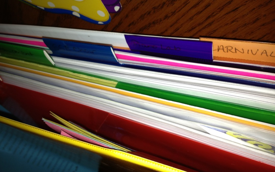 Transition notebook – Leaving a classroom and school in good shape!