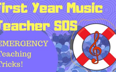 First Year Teacher SOS – EMERGENCY Teaching Tricks