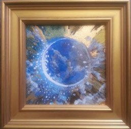"""Blue Moon Universe"" SOLD"