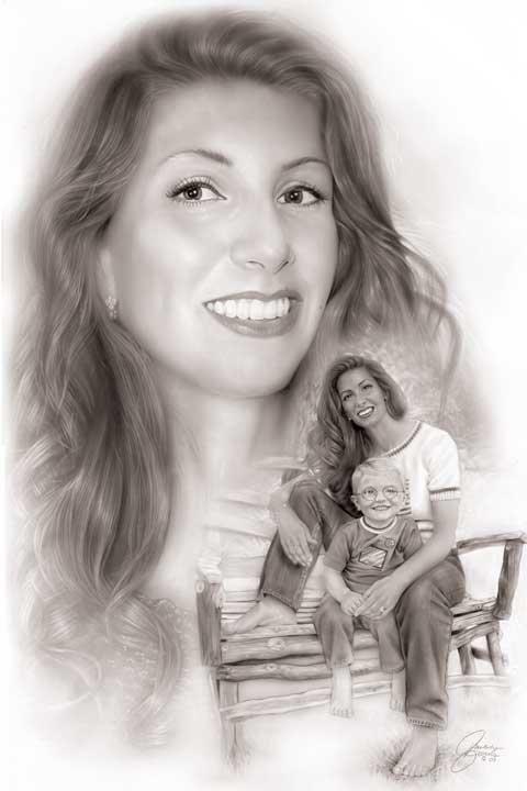 Sabrina portrait by Melody Owens