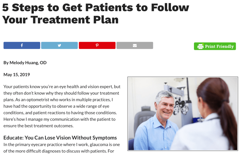 5 Steps to Get Patients to Follow Your Treatment Plan