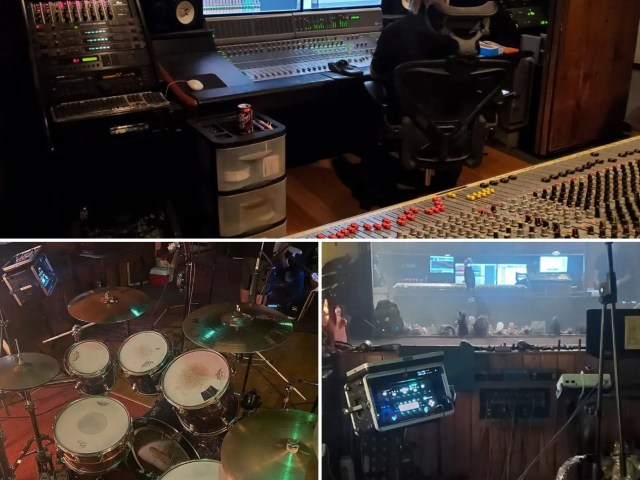 Behind the Scenes: In the recording studio